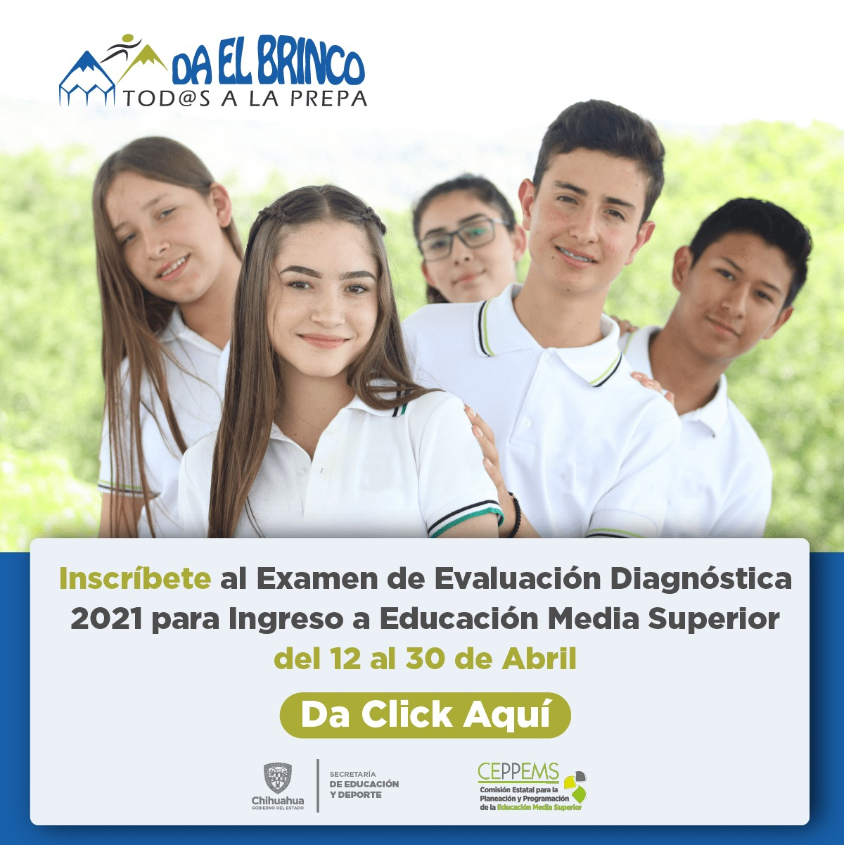 EXAMEN DE EVALUACIÓN DIAGNOSTICO 2021 MEDIA SUPERIOR